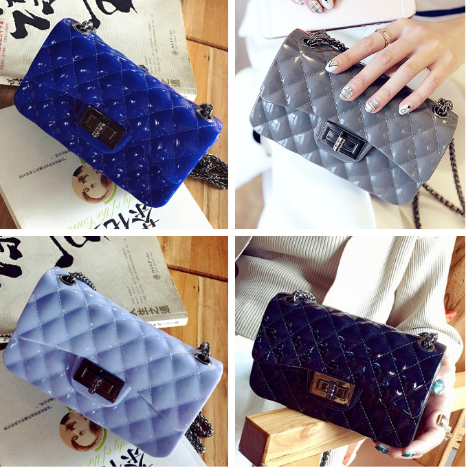 Женская сумка клатч шанель мини на цепочке через плечо - Интернет-магазин