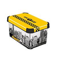 Коробка декоративная  TAXI NEW YORK 6л