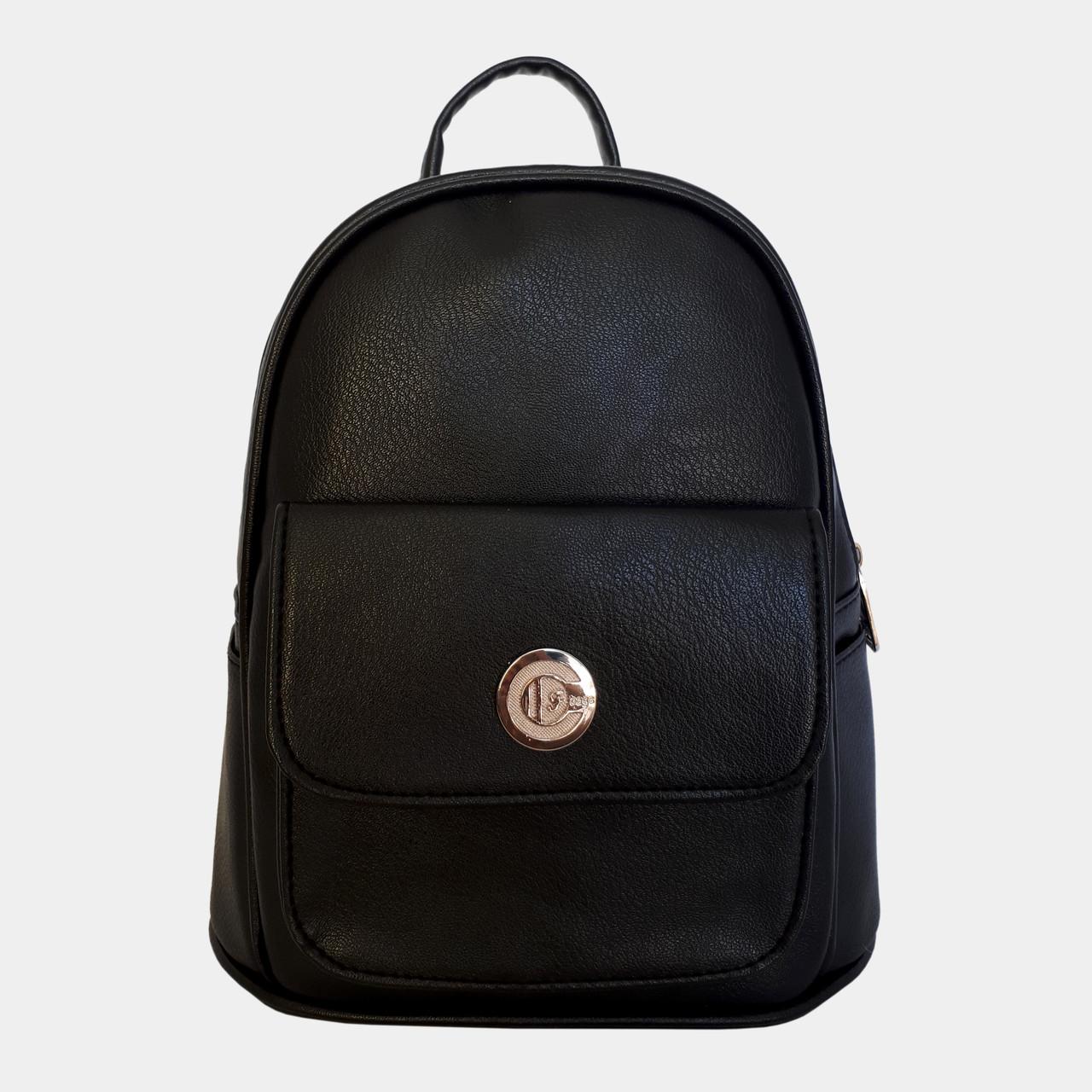 b876783d6c03 Рюкзак жіночий міський чорний / Рюкзак женский городской черный. Немає в  наявності