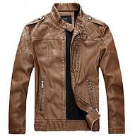 Куртка мото-байкерская .Натуральная кожа.
