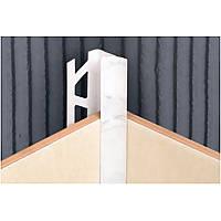 Уголок для кафеля внутренний белый 001 Ideal (933607)