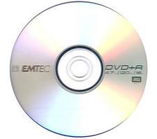 DVD-/+R диски для запису відео ємностями: Printable, 4,7 gb, 9,4 gb, 8,5 gb