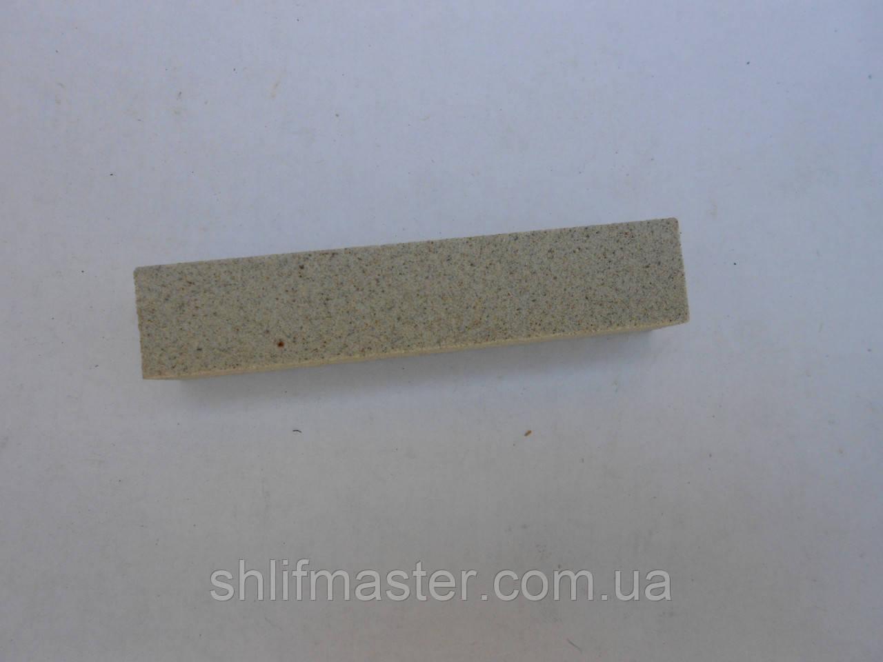 Брусок заточной абразивный 25А (электрокорунд белый) 120х25х8 6 СТ