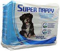 Super Nappy(Супер наппи) пеленки для собак, 60х40 см,50 шт/уп