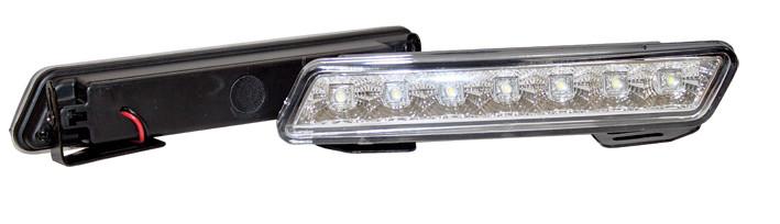 Фара дневного света 170x30 мм, 7 LED, 2 шт.