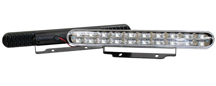 Фара дневного света 220x25 мм, LED, 2 шт., фото 2
