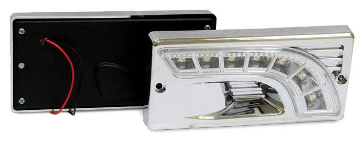 Фара дневного света штатная LADA 2110, LED, 2 шт., фото 2