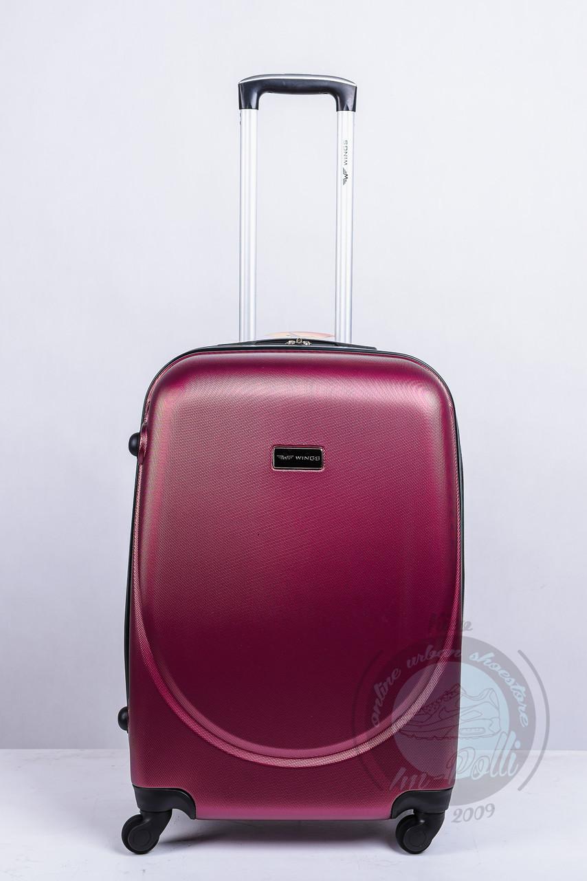 a63cc8ba3619 Чемодан на 4-х колесах Wings (Gravit) бордового цвета - Интернет магазин  обуви