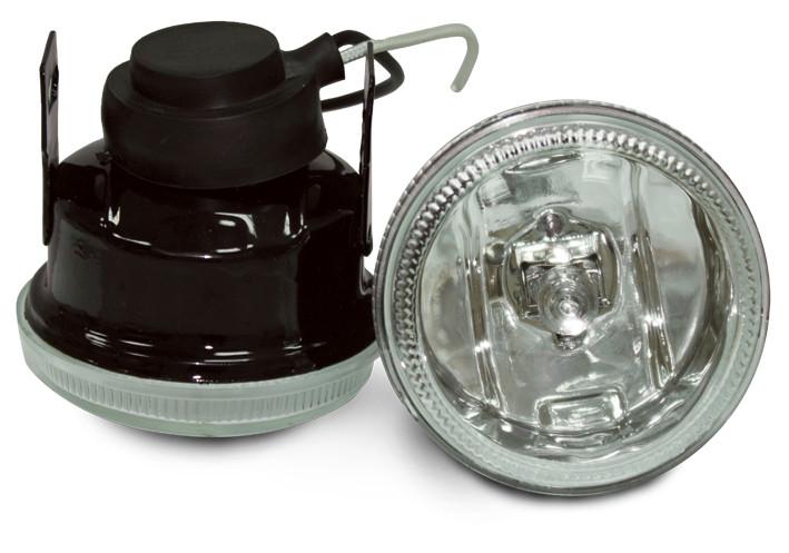 Фара противотуманная D=65 мм, галогеновая, стекло белое, 2 шт.