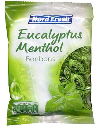 Леденцы Nord Fresh Eukalyptus-Mentol 250 г