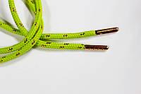 Шнурки 5мм круглыес металлическим наконечником (золото), фото 1