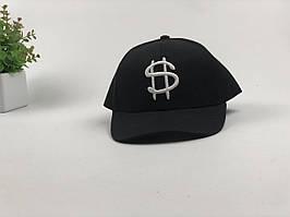 Кепка бейсболка Dollars (черная)