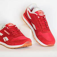Мужские кроссовки Reebok Classic Leather Stadium Red