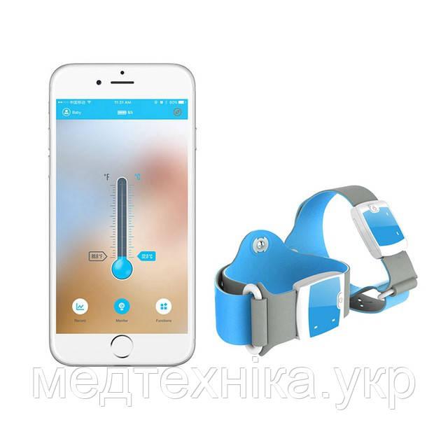 Цифровой Bluetooth интеллектуальный термометр Smart Fever Monitor (32° C -42° C)