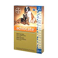 ADVOCATE Bayer від 25 до 40 кг - Байєр АДВОКАТ - комплексне засіб від паразитів для собак, 1 піпетка