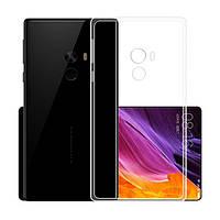 Силиконовый чехол 0,33 мм для Xiaomi Mi Mix 2S прозрачный