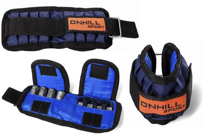 Утяжелители для рук OnhillSport 1-10 кг *2 шт
