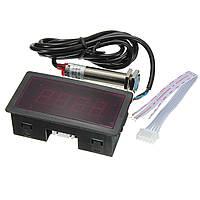 Красный LED Спидометр тахометр RPM Измеритель скорости с датчиком бесконтактного переключателя NPN