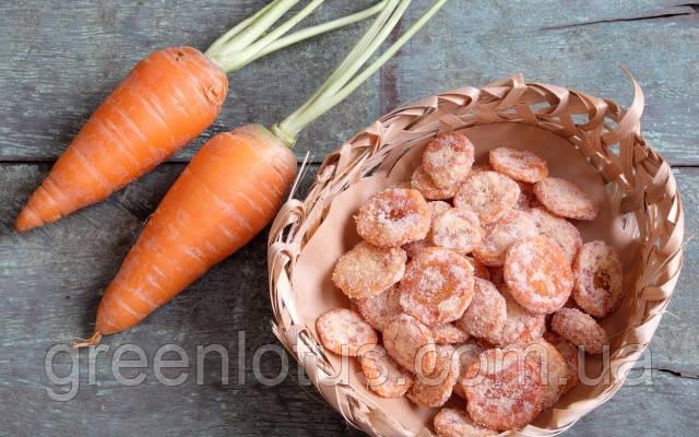 Цукаты морковные 500 г.