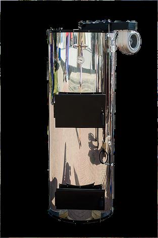Стальной котел длительного горения PlusTerm Хром 32 квт Бесплатня Доставка, фото 2