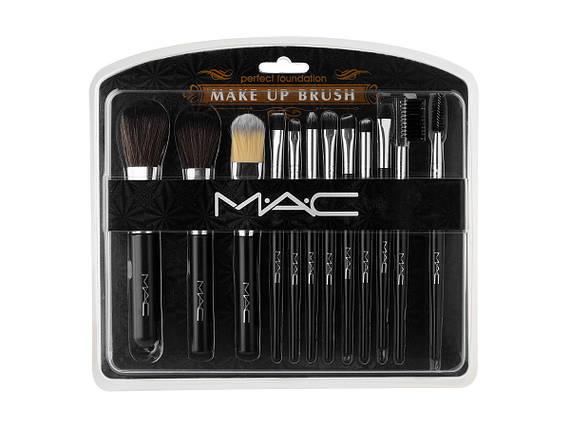 Набор кистей для макияжа MAC (12 шт)