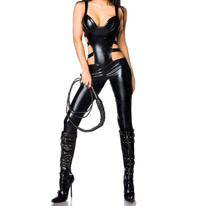 Латексный Сексуальный игровой костюм БДСМ