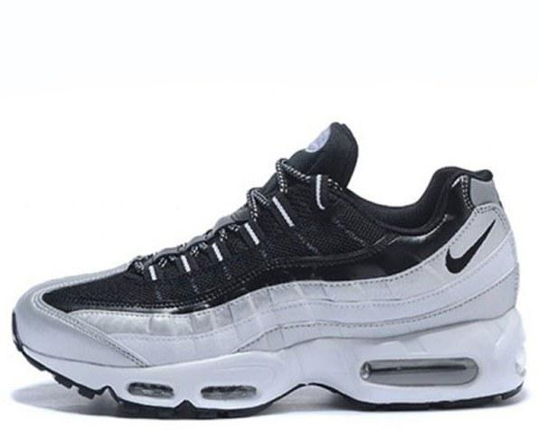 "Кроссовки Nike Air Max 95 ""White/Black/Grey"" Арт. 2904"