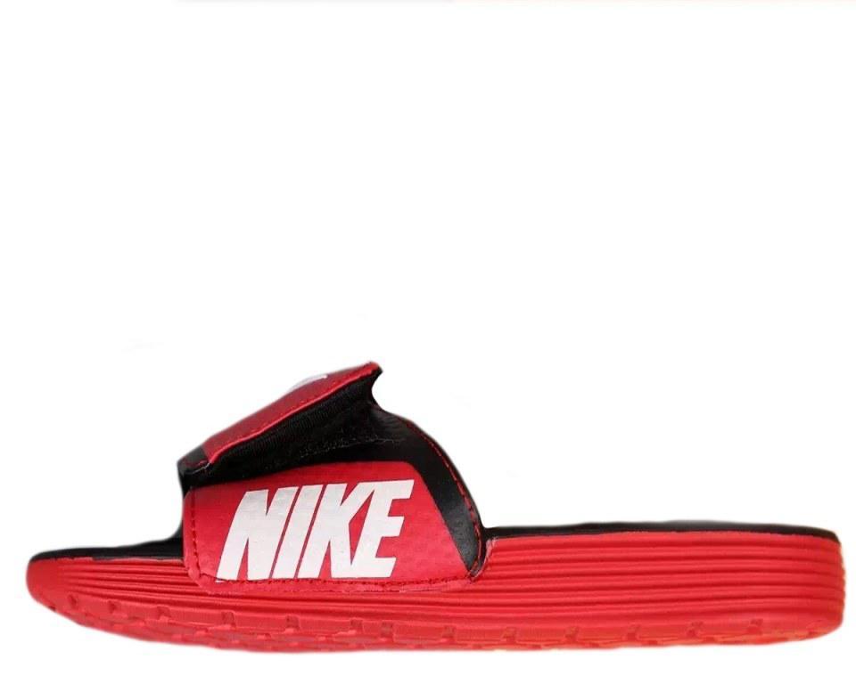 "Шлепанцы Nike Comfort ""Black/Red"" Арт. 2846"