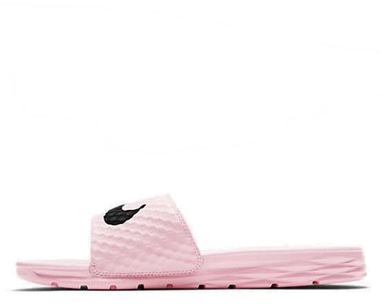 "Шлепанцы Nike Benassi Swoosh ""Black/Pink"" Арт. 2839"