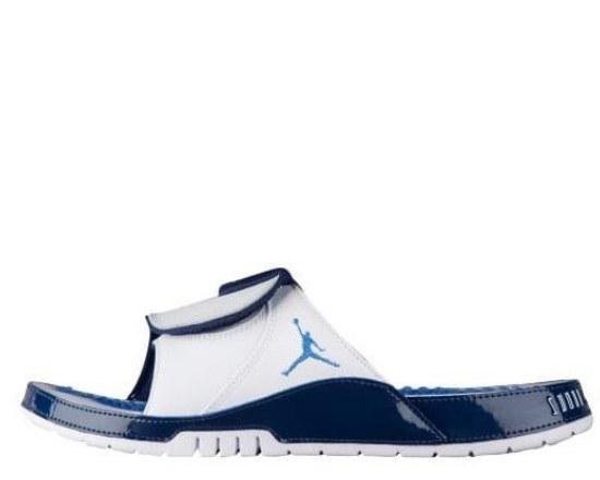 """Шлепанцы Air Jordan Hydro XI """"Blue/White"""" Арт. 2834"""