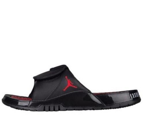 """Шлепанцы Air Jordan Hydro XI """"Black/Red"""" Арт. 2833"""