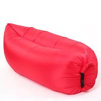 Надувной шезлонг диван мешок Ламзак Lamzac AIR CUSHION Red, фото 1