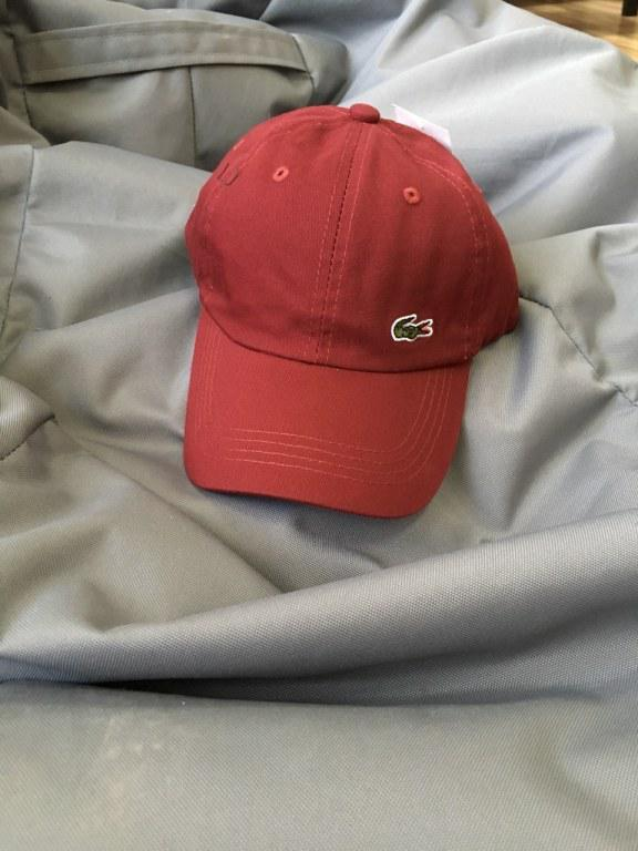 """Кепка Lacoste Classic """"Red"""" Арт. 2669"""