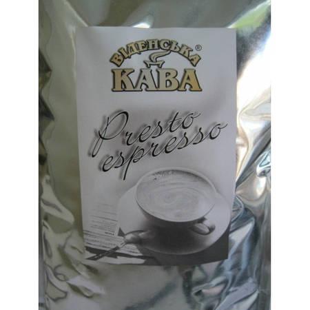 Кофе зерновой Віденська кава Espresso Presto 1000 грамм