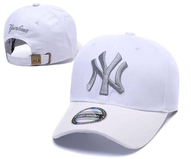 "Кепка MLB New York Yankees Snapback ""White Milk"" Арт. 2596"