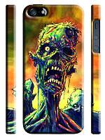 Чехол  на айфон 5/5s  черепа skills ужасы зомби