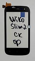 Сенсор (тачскрін) для Wiko Cink Slim 2 чорний