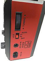 Портативная колонка MP3 USB Golon RX-277LSD Solar с солнечное панелью Wooden, фото 2