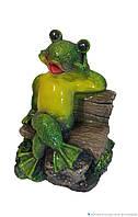 Садовая фигура Лягушка Артистка 20 см