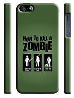 Чехол  на айфон 5/5s how to kill s zombie