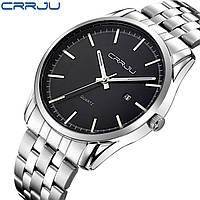 Часы наручные мужские CRRJU Black M142