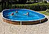 Сборный морозостойкий бассейн Mountfield Azuro DE LUXE 405DL Mistry (7,3х3,7м \ 29000л \ h=1,2м)