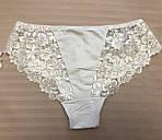 Трусы женские Белые трусики женские норма, фото 3