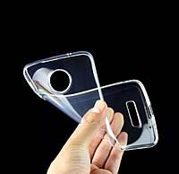 Силиконовый чехол 0,33 мм для Motorola Moto G6 Plus прозрачный