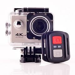 Экшн камера f60 с пультом Wi-Fi, 4k, 60fps, Go Pro Камера разные цвета Водонепроницаемый бокс