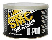 Углеволоконная легкошлифуемая шпатлевка черная U-Pol SMCB/2 SMC 1,1 л