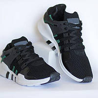 "Мужские кроссовки Adidas EQT Support ADV ""Black/Sub Green"""