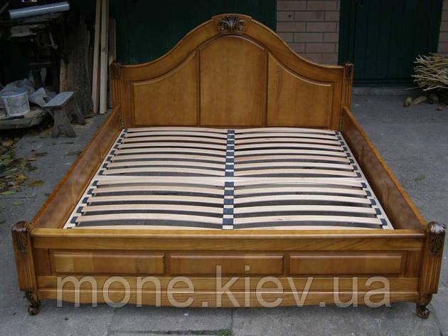 """Кровать из ясеня """"Мирослава"""" двуспальная, фото 2"""