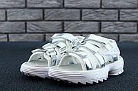 Женские сандалии Fila Disruptor 2 Sandal Summer Shoes White   replica AAA