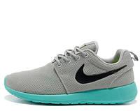 """Кроссовки Nike Roshe Run """"Light Grey/Teal"""" Арт. 2481"""